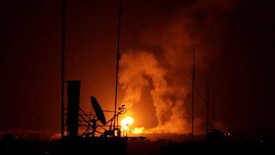 قصف كلية المجتمع في ذمار