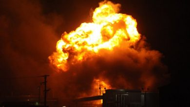 إنفجارات ضخمة في مدينة بقيق السعودية